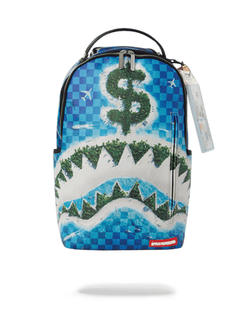 SPRAYGROUND- REPUBLIC OF SHARK ISLAND BACKPACK BACKPACK