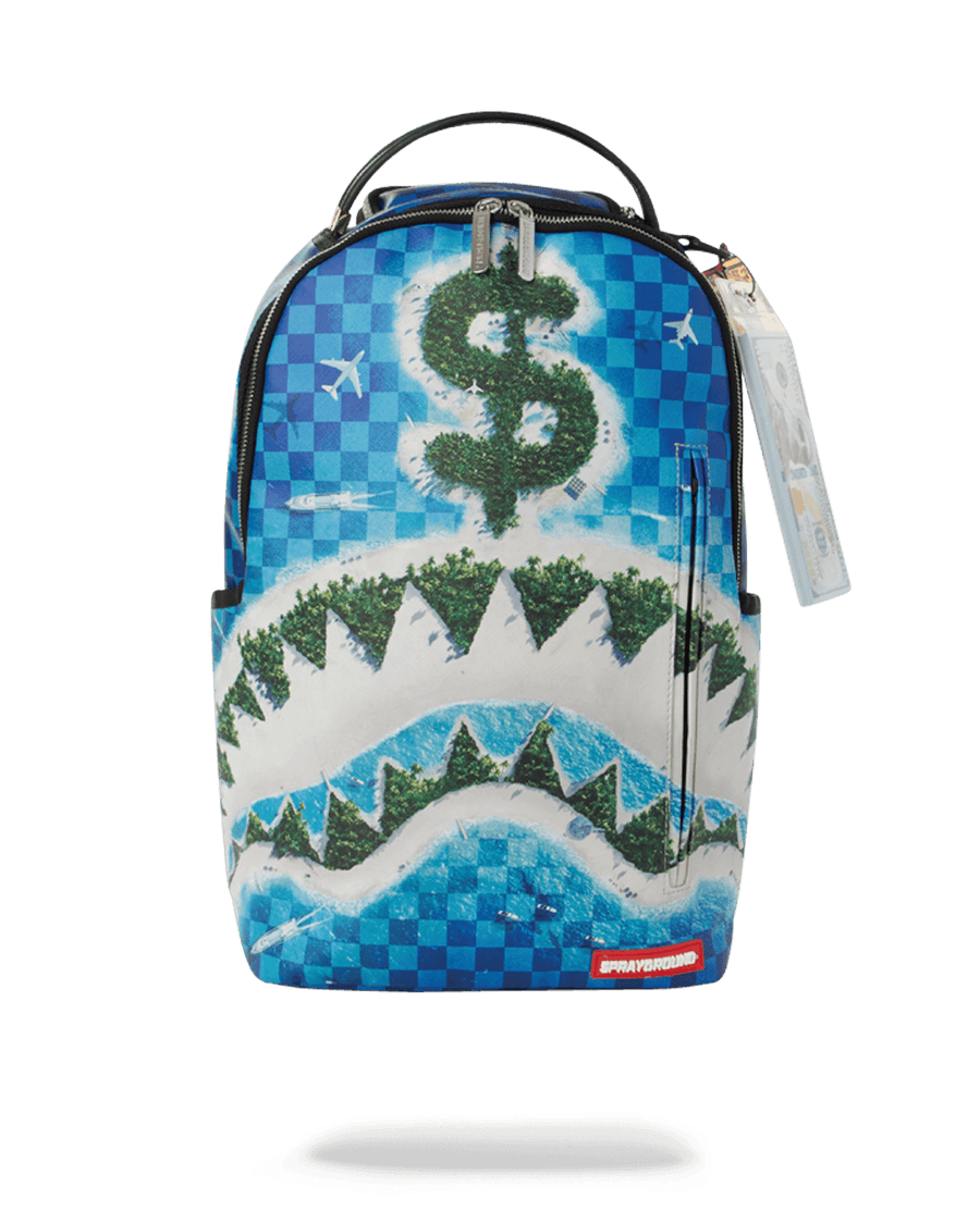 REPUBLIC OF SHARK ISLAND BACKPACK