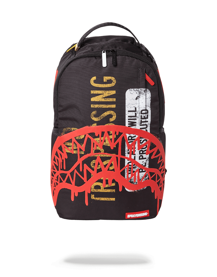 SPRAYGROUND- NO TRESPASSING BACKPACK BACKPACK