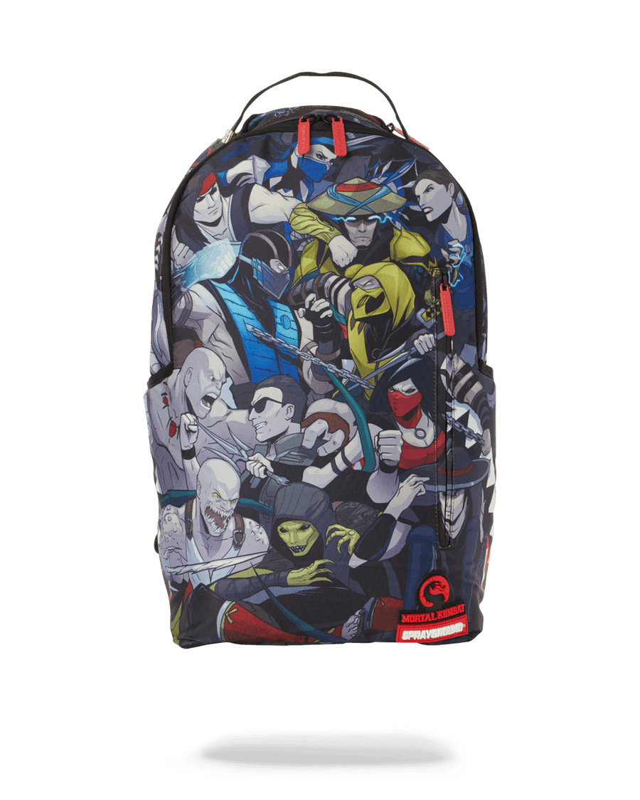 SPRAYGROUND- MORTAL KOMBAT: MASH UP BACKPACK BACKPACK