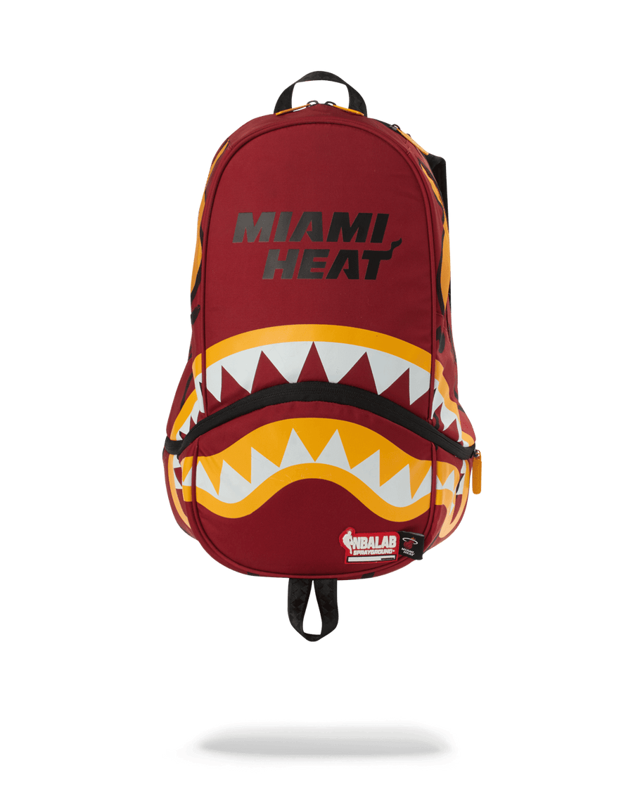 SPRAYGROUND- NBALAB: MIAMI HEAT TRAINER BACKPACK BACKPACK