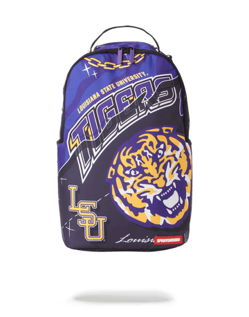 SPRAYGROUND- LSU BIG STYLE BACKPACK BACKPACK