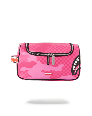 SPRAYGROUND- ANIME CAMO TOILETRY BAG TOILETRY
