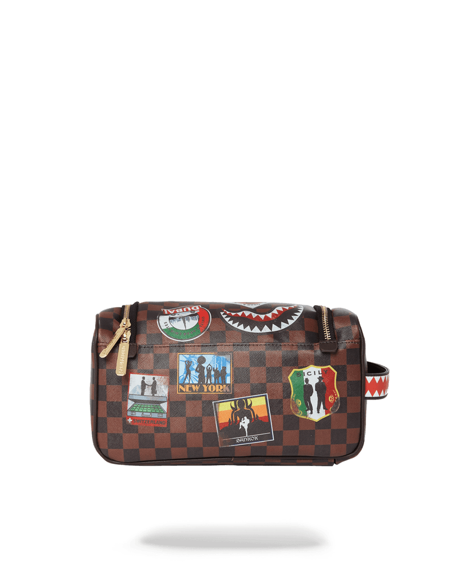 GLOBAL MOGUL TOILETRY BAG