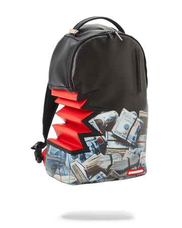SHARK BITE MONEY BITE DLXV BACKPACK