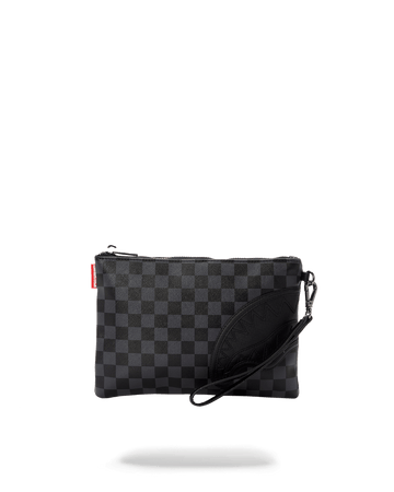 HENNY BLACK CROSSOVER CLUTCH