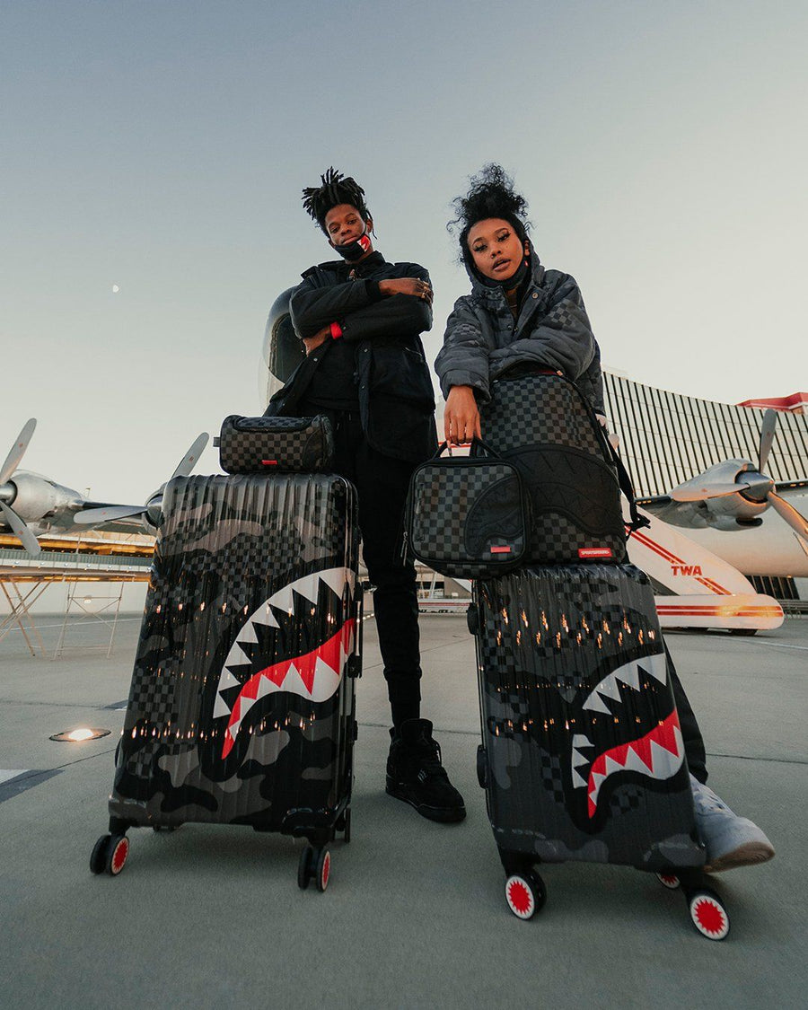 3AM SHARKNAUTICS 2 PC LUGGAGE SET