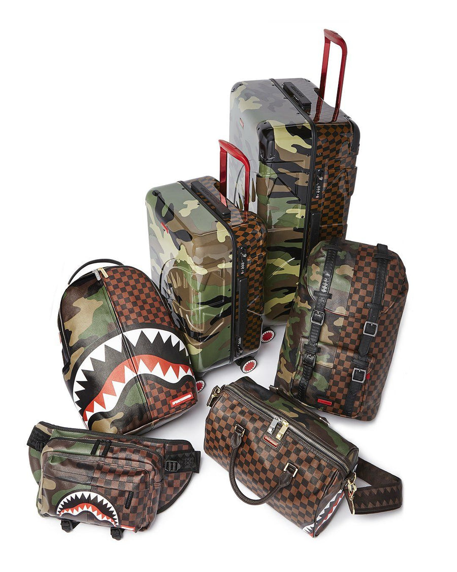 "JUNGLE PARIS 29.5"" FULL-SIZE SHARKITECTURE LUGGAGE"