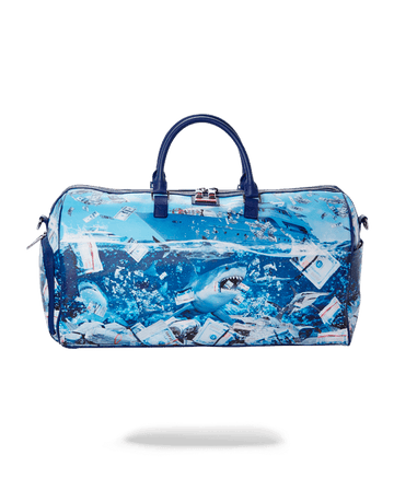 SPRAYGROUND- THE SHARK OF WALL STREET DUFFLE DUFFLE