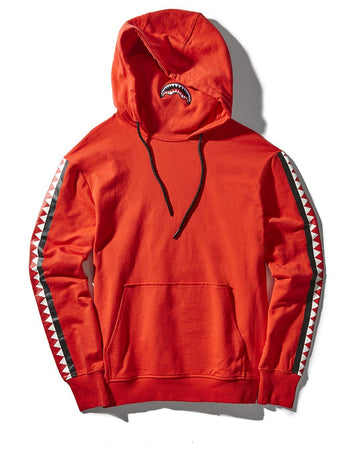 NINJA VERTICAL SHARK HOODY (RED)