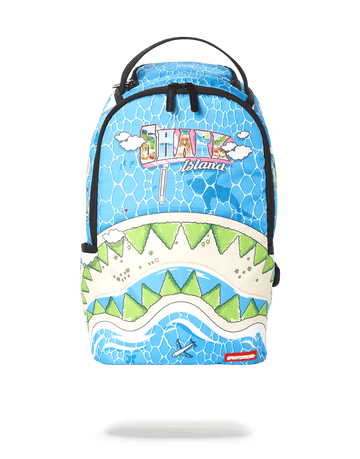 SPRAYGROUND- MINI WELCOME TO SHARK ISLAND BACKPACK BACKPACK