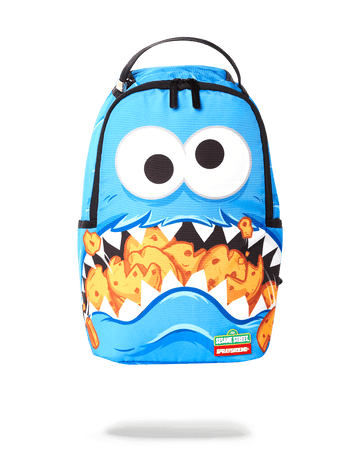 SPRAYGROUND- MINI COOKIE MONSTER SHARK BACKPACK BACKPACK
