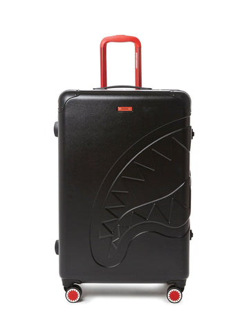 "SPRAYGROUND- SHARKITECTURE (BLACK) 29.5"" FULL-SIZE LUGGAGE LUGGAGE"
