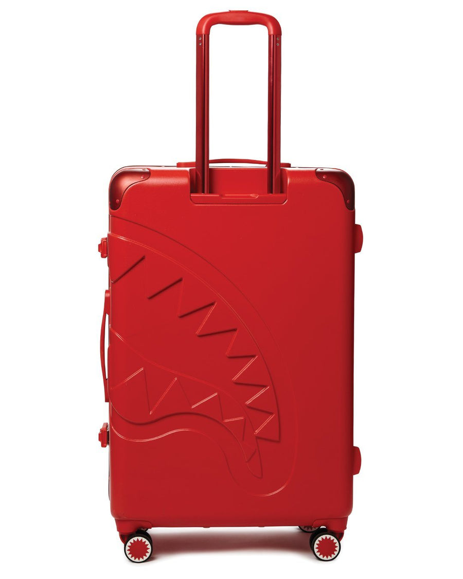"SPRAYGROUND- SHARKITECTURE (RED) 29.5"" FULL-SIZE LUGGAGE LUGGAGE"