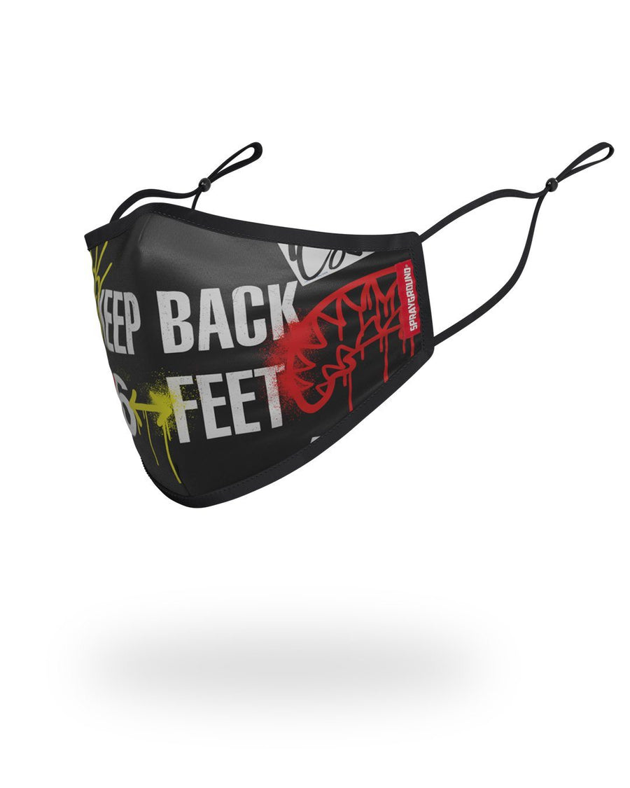 SPRAYGROUND- ADULT BACK IT UP FORM FITTING FACE MASK FASHION MASK