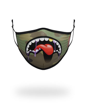 SPRAYGROUND- ADULT LUCID SHARK FORM FITTING FACE MASK FASHION MASK