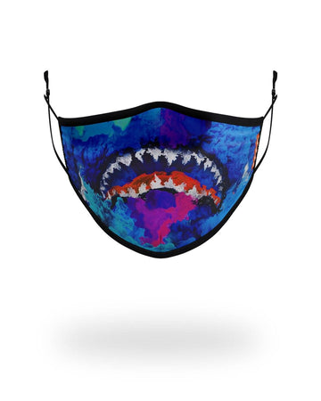 SPRAYGROUND- ADULT COLOR DRIP FORM FITTING FACE MASK FASHION MASK