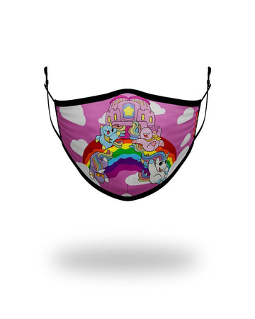 SPRAYGROUND- KIDS FORM FITTING MASK: RAINBOW BOUNCE FASHION MASK
