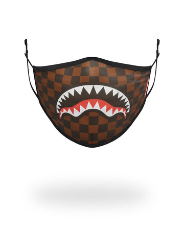SPRAYGROUND- ADULT SHARKS IN PARIS (ORIGINAL) FORM FITTING FACE MASK FASHION MASK