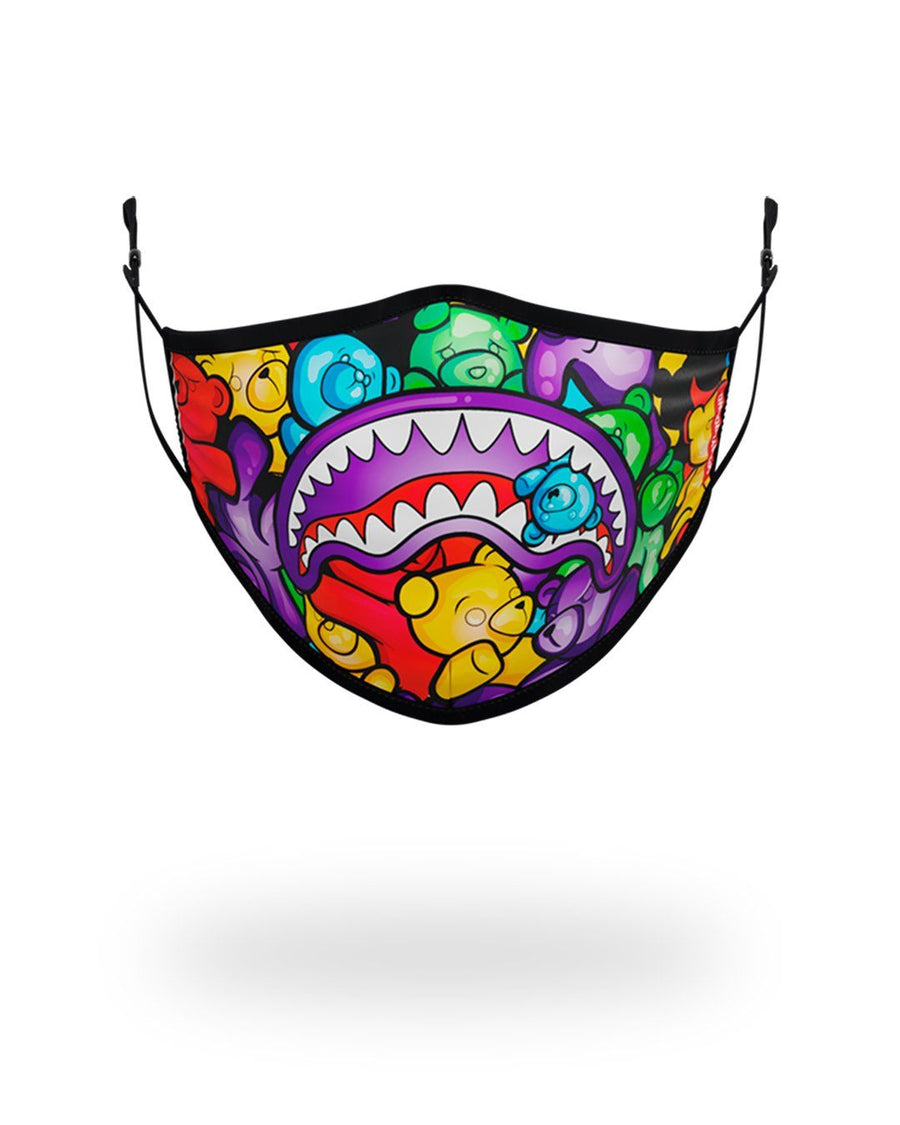 SPRAYGROUND- ADULT GUMMY LIPS FORM FITTING FACE MASK FASHION MASK