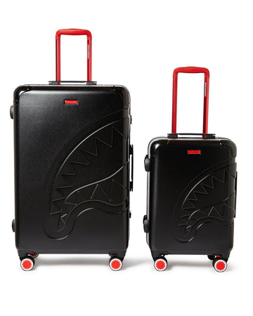 SHARKITECTURE MOLDED 2 PC LUGGAGE SET