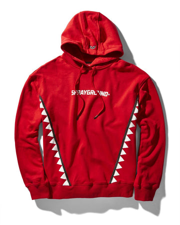 VERTICAL TRIBE HOODY (RED)