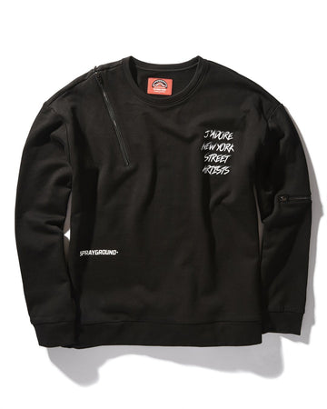 ARTIST FOR LIFE CREWNECK ZIP