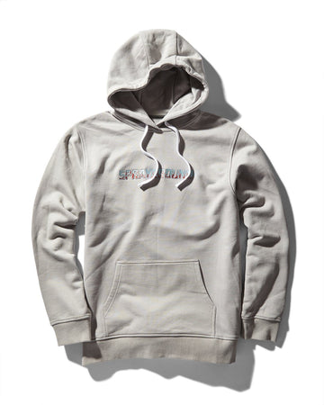 FIRE HOODY (GREY)