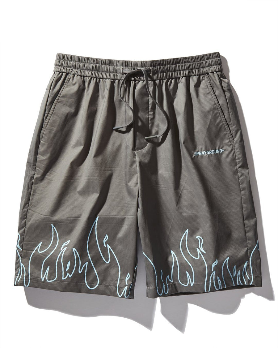 FIRE SHORTS (GREY)