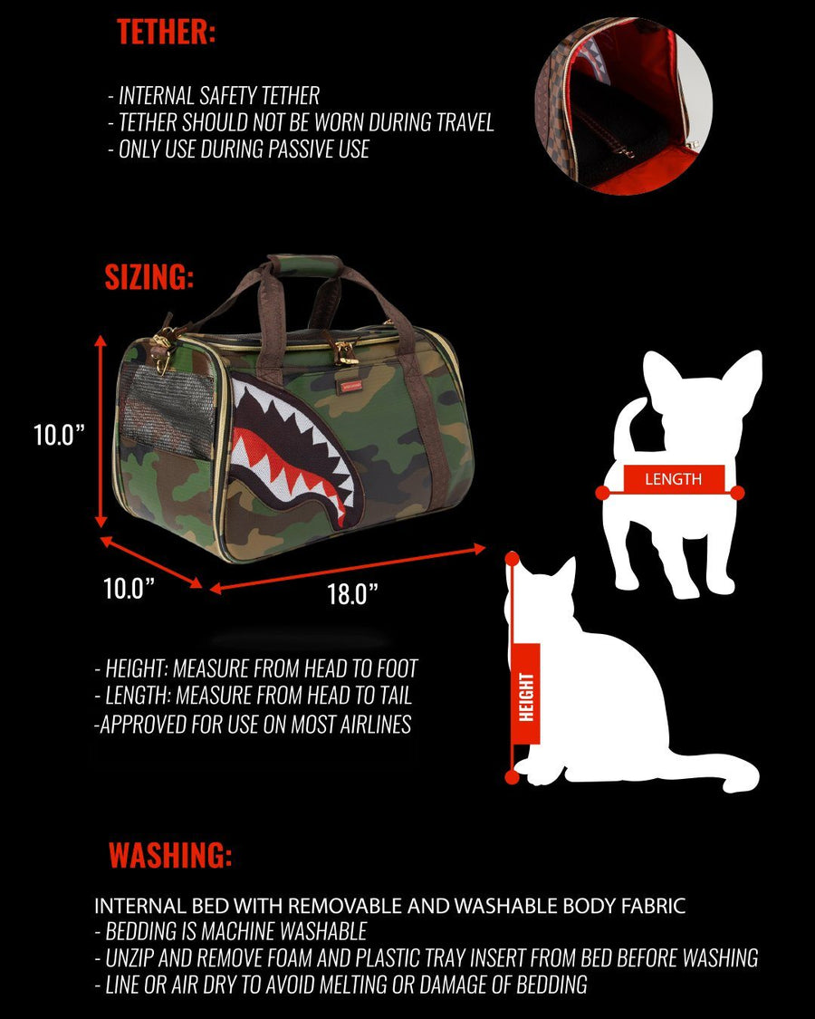 PET CARRIER: SHARKS IN PARIS