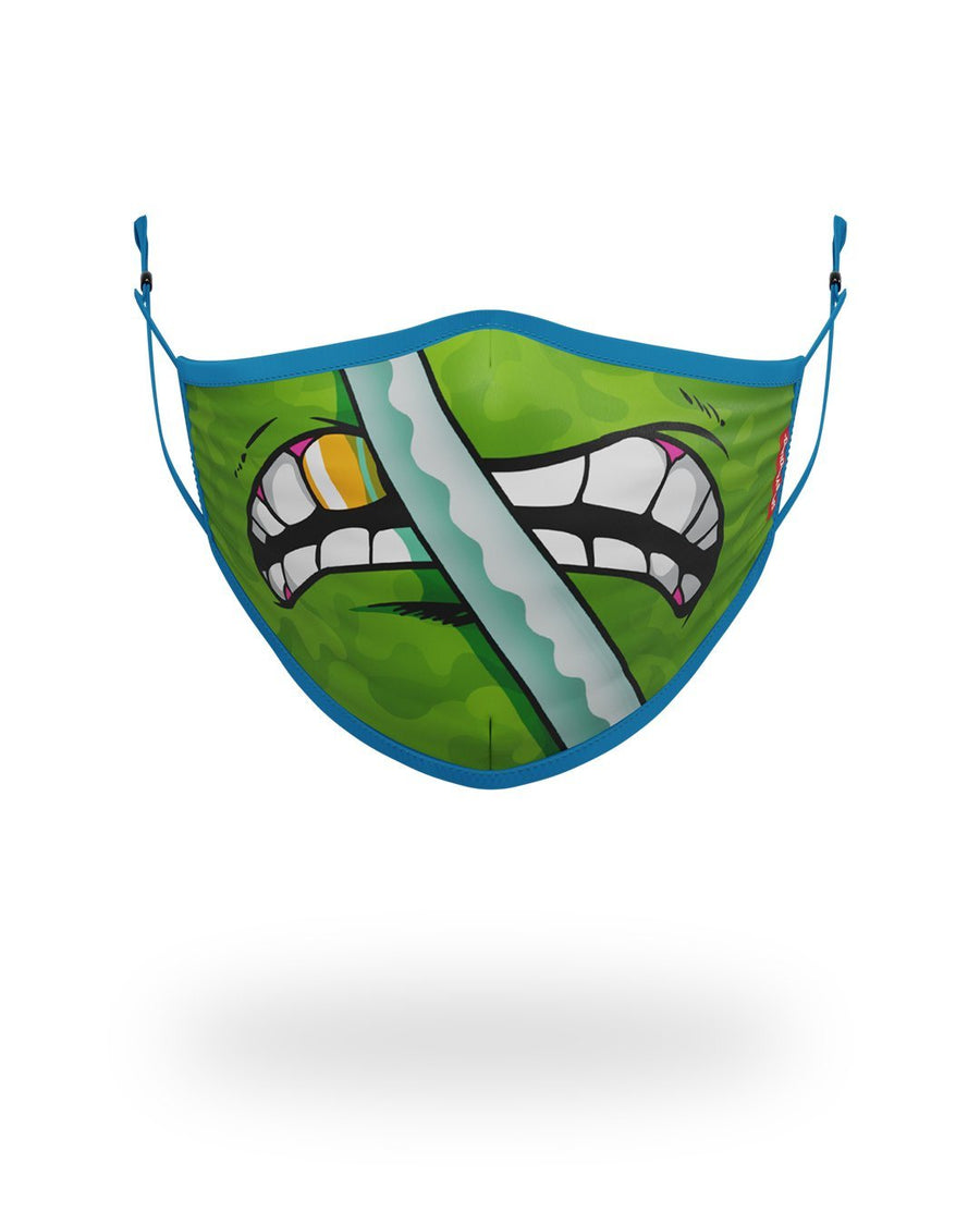 SPRAYGROUND- ADULT TMNT: LEONARDO SHARK FORM FITTING FACE-COVERING FASHION MASK
