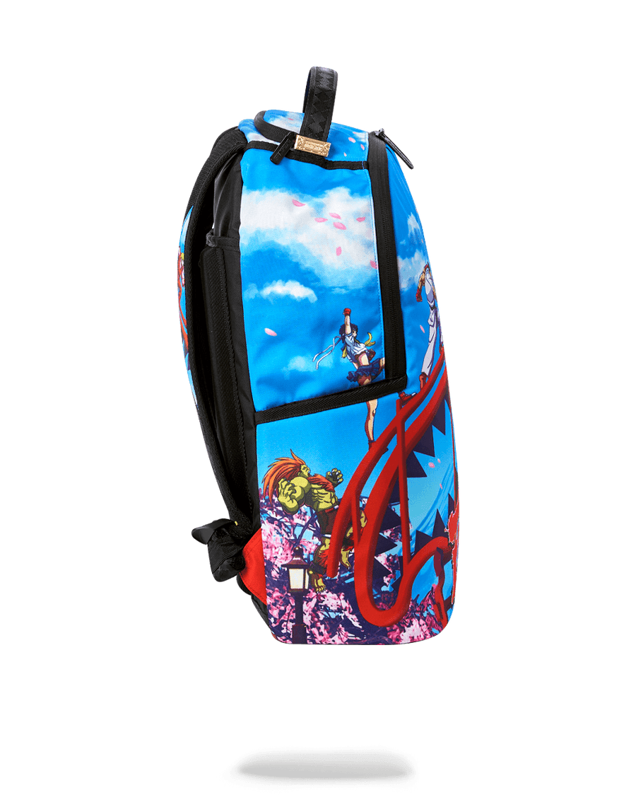 SPRAYGROUND- STREET FIGHTER: ON THE RUN BACKPACK BACKPACK