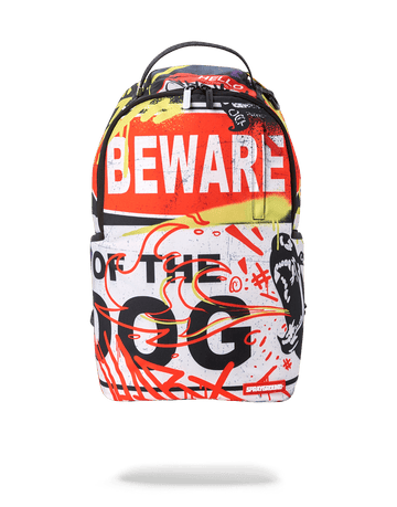 SPRAYGROUND- BEWARE OF THE DOG BACKPACK BACKPACK