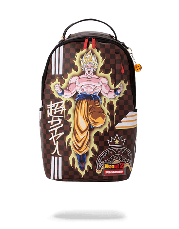 SPRAYGROUND- DBZ: SUPER SAIYAN BACKPACK BACKPACK