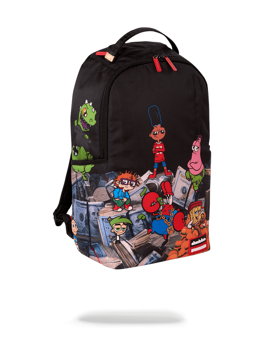 SPRAYGROUND- 90'S NICK: MONEY STACKS BACKPACK BACKPACK