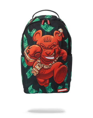 SPRAYGROUND- DIABLO BEAR: ON THE RUN BACKPACK BACKPACK