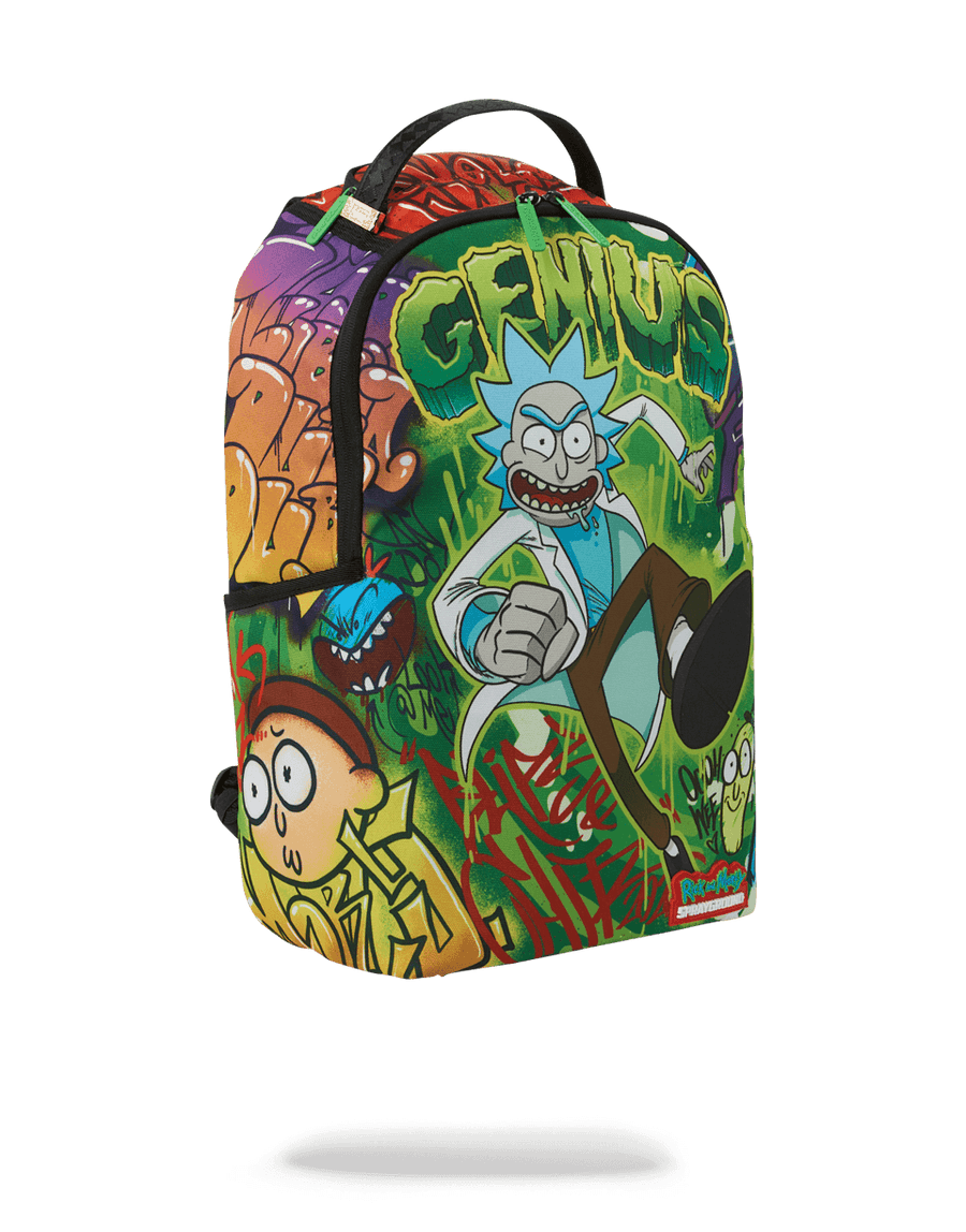 SPRAYGROUND- RICK AND MORTY: GENIUS BACKPACK BACKPACK