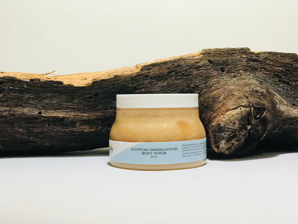 Vegan body scrub- Egytian Sandalwood