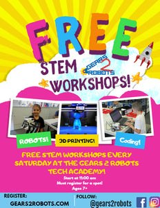 Free STEM Workshops for kids! In Temecula, California!