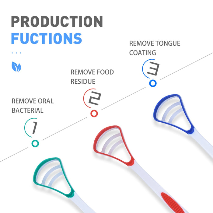 Silicone Tongue Scraper