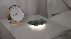 Wireless Charger with LED Night Light