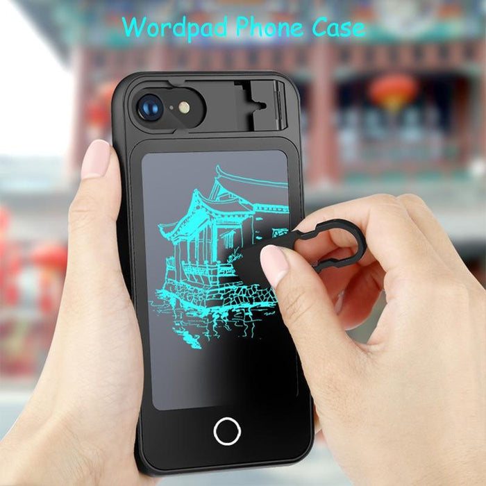 Wordpad iPhone Case