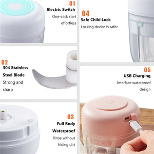 Wireless Electric Food Chopper