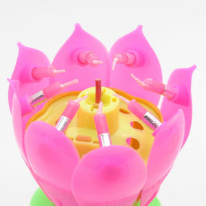 Musical Candlelight Lotus Flower