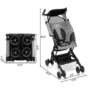 Portable Pocket Compact Lightweight Stroller - Easy For Travel