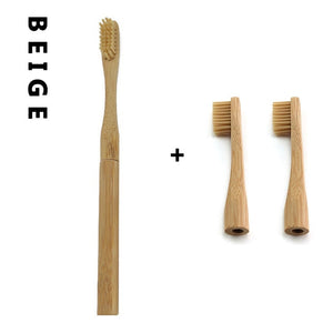 Replaceable Bamboo Toothbrush