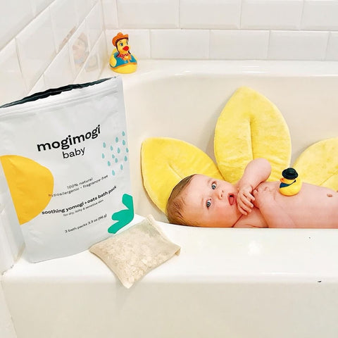 organic mess free gluten free oatmeal bath for baby
