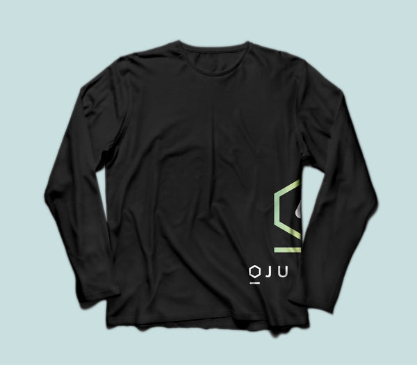 Black Oju-Wa Long Sleeve T-Shirt