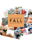 Fall Into Color Presets by Magical Lifestyle