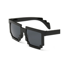 UVLAIK Fashion 8 bit Pixel Thug Life Sunglasses